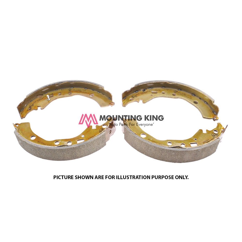 Rear Brake Shoe Set